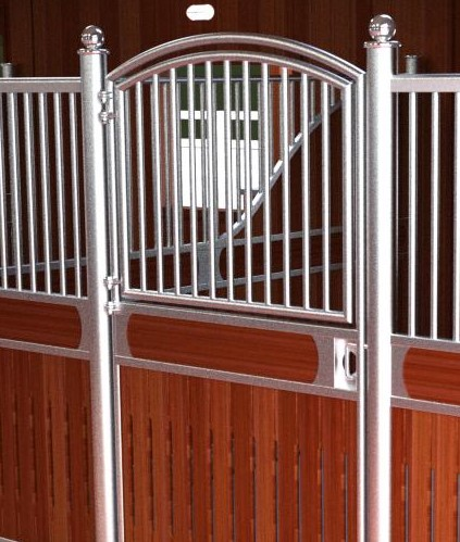European Style Horse Stall With Dutch Door Polygon